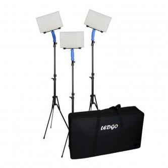 LEDGO B560 3kit+T Portable LED light 3-kit