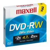 Maxell DVD RAM 4,7 GB Data 3-pak