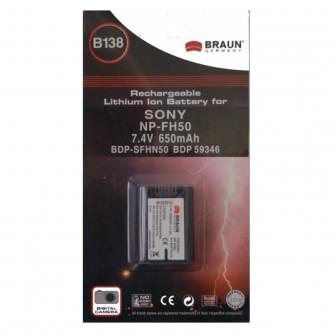 BRAUN B138 7,4/800 SFHN50 SONY