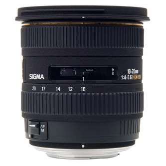 Sigma AF 10-20 f/4-5,6 DC Canon