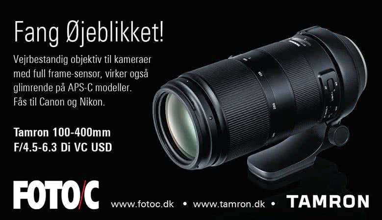 Tamron 100-400mm Canon og Nikon
